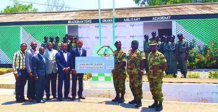 Donation to the Ghana Military Academy