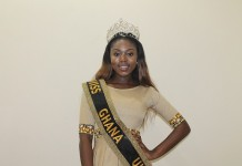 Miss Ghana UK 2014 - Miss Eloise Dickens