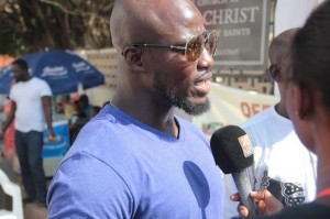 Stephen Appiah at food for all
