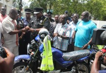 TB Joshua donation to police