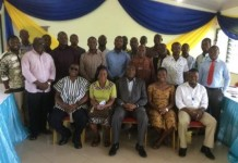 Group photography of facilitators and participants