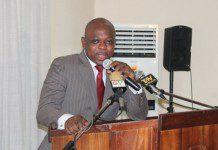Mr James Agalga, Deputy Minister of the Interior