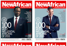 All New African Magazine covers
