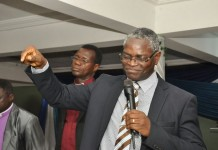 Apostle J. F. K. Mensah, the Co-Reactor, the CDM Bible College