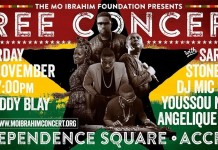 Mo Ibrahim Foundation presents free concert