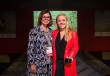 SOFI-Award-Winner-Ann Miles,Director of Programs,Financial Inclusion & Youth Livelihoods at The MasterCard Foundation and Mathilda Strom, Deputy CEO, Head of Business of BIMA