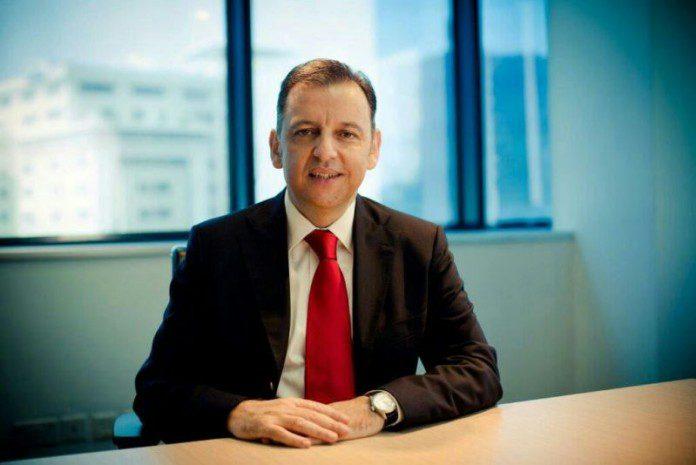 Mr Haris Broumidis, Chief Executive Officer of Vodafone Ghana