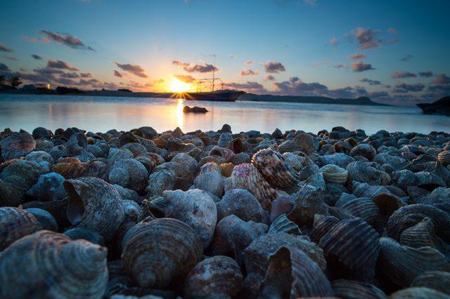 Photo taken on Dec. 11, 2015 shows the coastal view of the Zhaoshu Island in Sansha City, south China's Hainan Province. (Xinhua/Liu Chan)