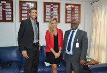 Kofi Wampah with Oxford business group