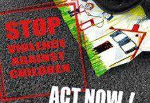 Stop violence against children. Poster courtesy UNICEF