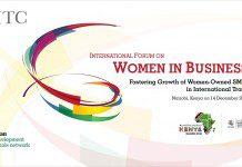 International Women In Business Forum to be held n Nairobi Kenya