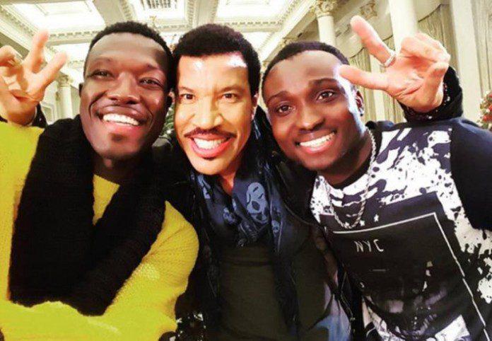 Reggie and bollie meet legendary lionel richie news ghana reggiebollie m4hsunfo