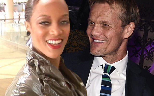Tyra Banks and Erik