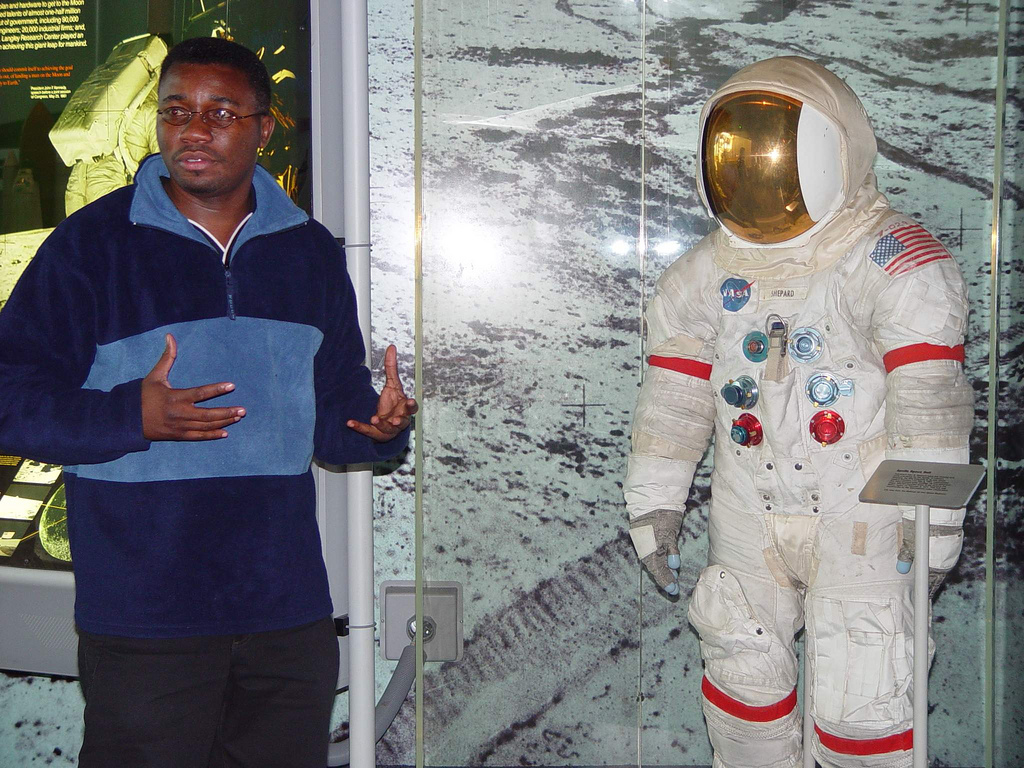 Dr. Ave K. Kludze - Rocket Scientist, NASA. The son of Ewes from Hohoe, Ghana. Kludze was born in Hohoe. He grew up in Accra and attended the Adisadel College, a high school in the Central Region of Ghana, before moving to the United States where he had h  Photo by Antoinette Herrmann-Condobrey