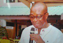 Mr Kwabena Nkansah Asare in an address