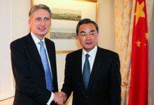 Wang and Philip Hammond