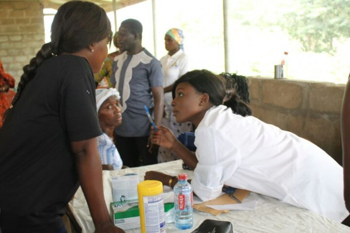 health screening is on