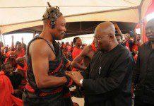 Akufo Addo greets chiefs