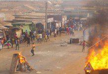 Violent communal clash