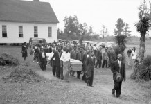 Dorsey Couple Funeral Procession in 1946
