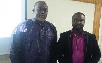 Dr Ekow Spio Garbrah (left) and Mr Paul Opoku Agyemang (right)