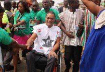 Ivor Kobina Greenstreet, CPP Flag Bearer