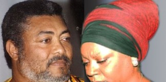 Jerry John Rawlings and Valerie Sawyer