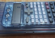 KAPTEK set of mathematical instruments with an in-built scientific calculator