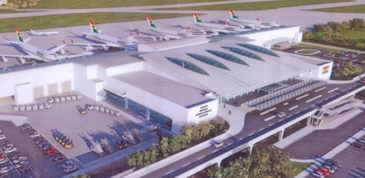 Proposed Terminal 3 at KIA