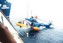 A scene of aircraft rescue Photo: SaharaReporters