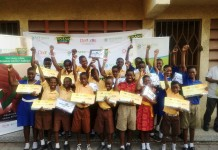 Winners of Vivo Energy Bonanza School Challenge