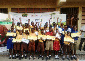 Winners of Vivo Energy Bonanza School Challenge