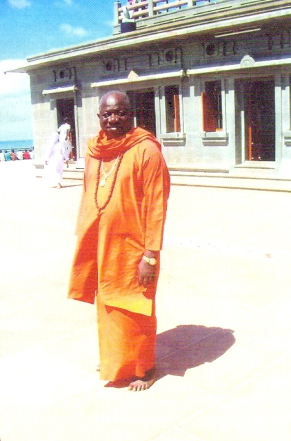the deceased, Swami Ghananand Saraswati,