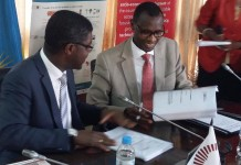 Partnership Agreement signature between the Government of Rwanda and AIMS-NEI
