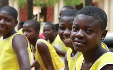 ghana school girls
