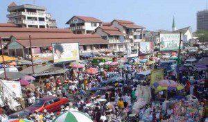 Accra Makola Market
