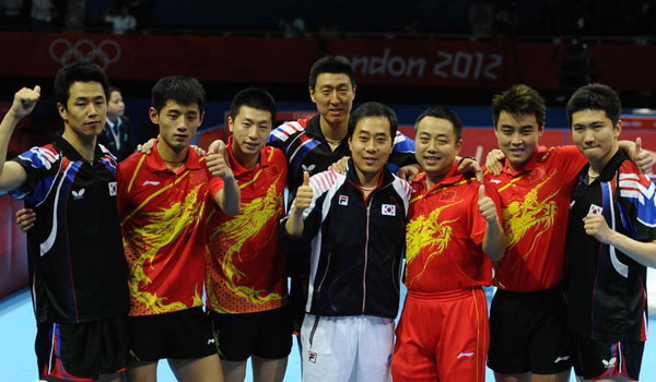 China' Clinch To 8th Straight Table Tennis World ...