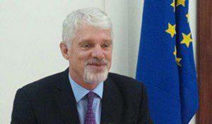 EU Ambassador to Ghana, William Hanna