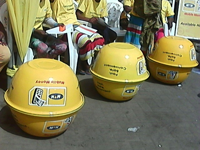 MTN branded head pans