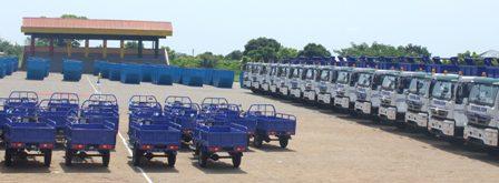 waste trucks from zoomlion