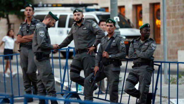 Israeli border Policemen