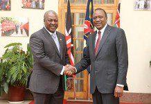 Mahama and Kenyatta