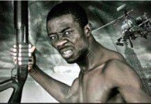 Kwaku Manu on a movie poster