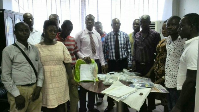 Picture shows the NLA Legal team together with the newly recruited NLA retailers