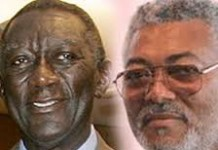 Jerry Rawlings and John Kufuor