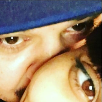 Rob Kardashian and Blac Chyna (c) Instagram/Rob Kardashian
