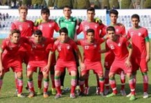 The Iranian national under-17 soccer team