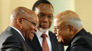 Zuma and Gordhan