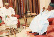 President Mahammadu Buhari and former President Olusegun Obasanjo
