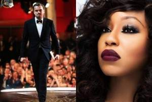 Leonardo Di Caprio and Rita Dominic